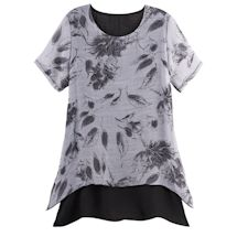 Breezy Leaves Tunic
