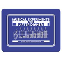 After Dinner Experiment Card Set - Musical Experiments
