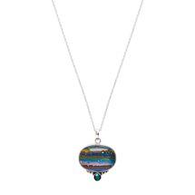 Rainbow Calsilica Necklace