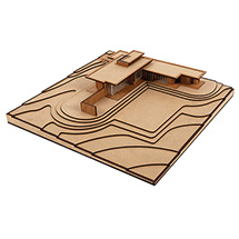Frank Lloyd Wright® Jacobs House Architectural Model Kit
