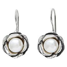 Pearl Blossom Earrings