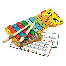 Animambo Musical Instruments for Kids - Metallophone