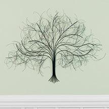 Black Tree Metal Wall Art