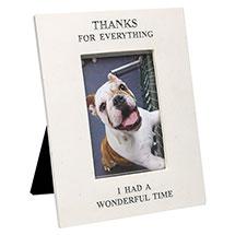 """Thanks for Everything"" Pet Memorial Frame - 4"" x 6"" Photos"