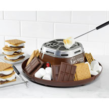 Electric S'mores Maker Kit with Trays and Forks