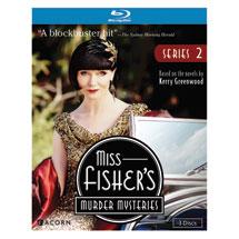 Miss Fisher's Murder Mysteries Series 2 DVD & Blu-ray