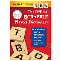Official Scrabble Players Dictionary: New Sixth Edition
