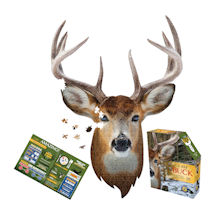 I am Animal Puzzle - Buck