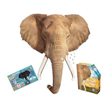 I am Animal Puzzle - Elephant