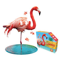 I am Animal Puzzle - Flamingo