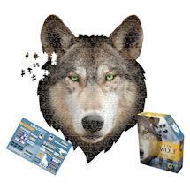 I am Animal Puzzle - Wolf