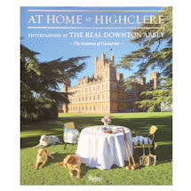 At Home at Highclere: Entertaining at the Real Downton Abbey Book - Unsigned