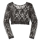 Lacey Long Sleeve Layering Top