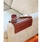 Wood Flexi Sofa Chair Armrest Table Tray - 16.5""