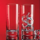 Red Series Bubble 17 oz Highball Glass Set of 8