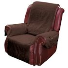 Recliner Cover - Brown Set of 2