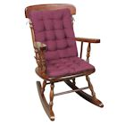 2 Pc. Rocking Chair Cushions - Burgundy