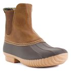 Avanti Women's Rocky Duck Style Heeled Rain Boots - Brown or Stone