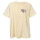David Carey Officially Licensed Men's Ford Oval Woodies T-shirt - Yellow Tee