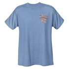 David Carey Officially Licensed Men's Chrysler Woodies T-shirt - Blue Tee