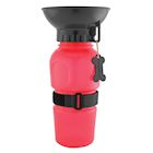 Highwave AutoDogMug Pet Sport Bottle - Portable Water Bowl - Holds 20 oz - Red