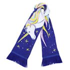 "What on Earth Unisex Unicorn Scarf - Extra Long Fun Print - Unicorn, 74"" x 7 1/2"""
