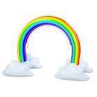 Etna Inflatable Rainbow Arch Sprinkler - Giant Fun Outdoor Water Toy For Kids Attaches to Garden Hose, 4 Feet High