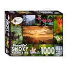 Education Outdoors Smoky Mountains Jigsaw Puzzle - 1000 Piece National Park Photo Puzzle - Family Fun Activity
