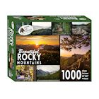 Education Outdoors Rocky Mountains Jigsaw Puzzle - 1000 Piece National Park Photo Puzzle - Family Fun Activity