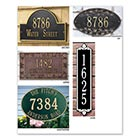 Personalized Address Plaque - Hawthorne/Wall