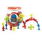 Fat Brain Toys Mini Squigz 75-Piece Set