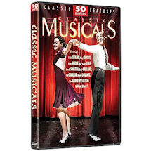 Classic Musicals: 50 Movies DVD