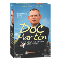 Doc Martin - The Six Surly Collection: Series 1-6 + The Movies DVD