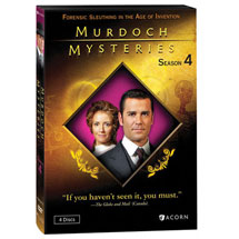 Murdoch Mysteries: Season 4 DVD & Blu-ray