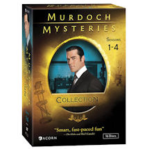 Murdoch Mysteries Collection: Seasons 1-4 DVD & Blu-ray
