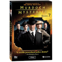 Murdoch Mysteries: Season 7 DVD & Blu-ray