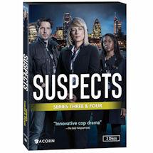 Suspects: Series 3 & 4 DVD