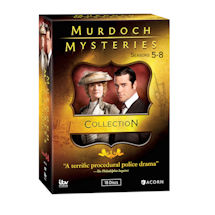 Murdoch Mysteries Collection: Seasons 5-8 DVD & Blu-ray