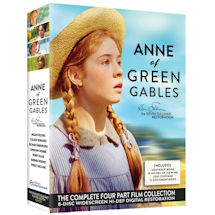 Anne of Green Gables Boxed Set of 8 DVDs with Souvenir Booklet