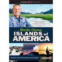 Martin Clunes Islands of America DVD