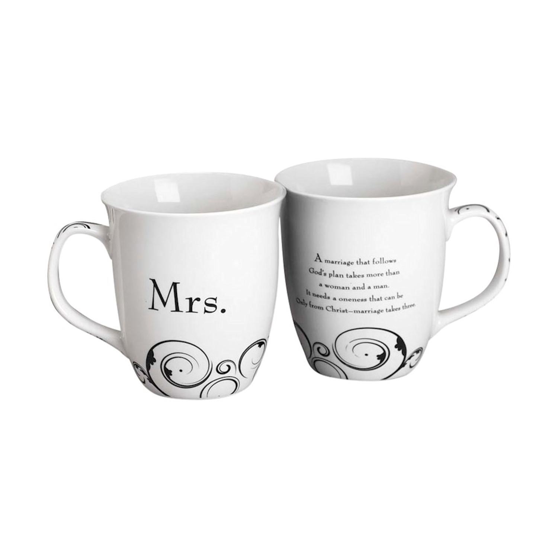 Wedding Gift Mugs: Mr. And Mrs. Coffee Mugs