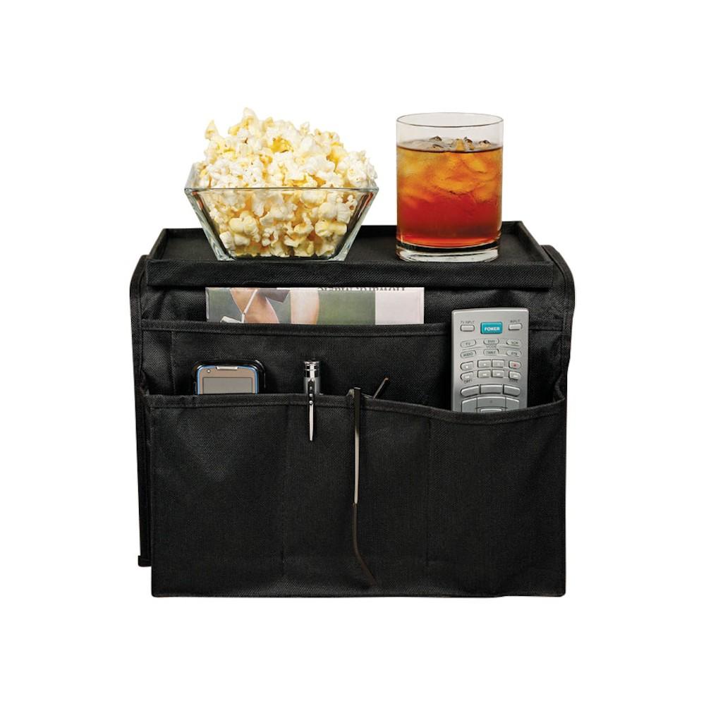 Arm Rest Organizer 6 Pocket Caddy Tray For Couch Sofa