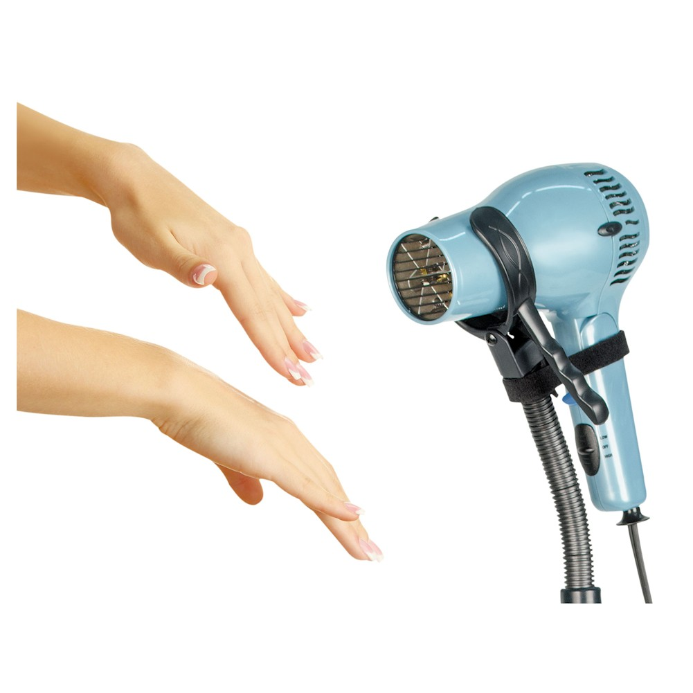 Hair Dryer Styling Stand Holder - Hands Free Hair Drying ...