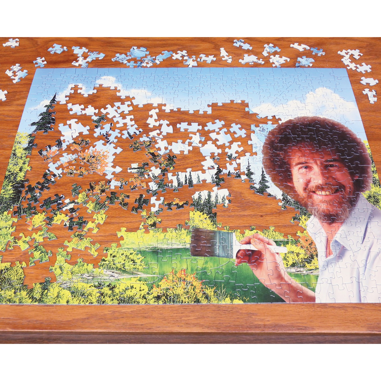 Wellspring Premium Bob Ross Puzzle - 500 Piece Jigsaw ...