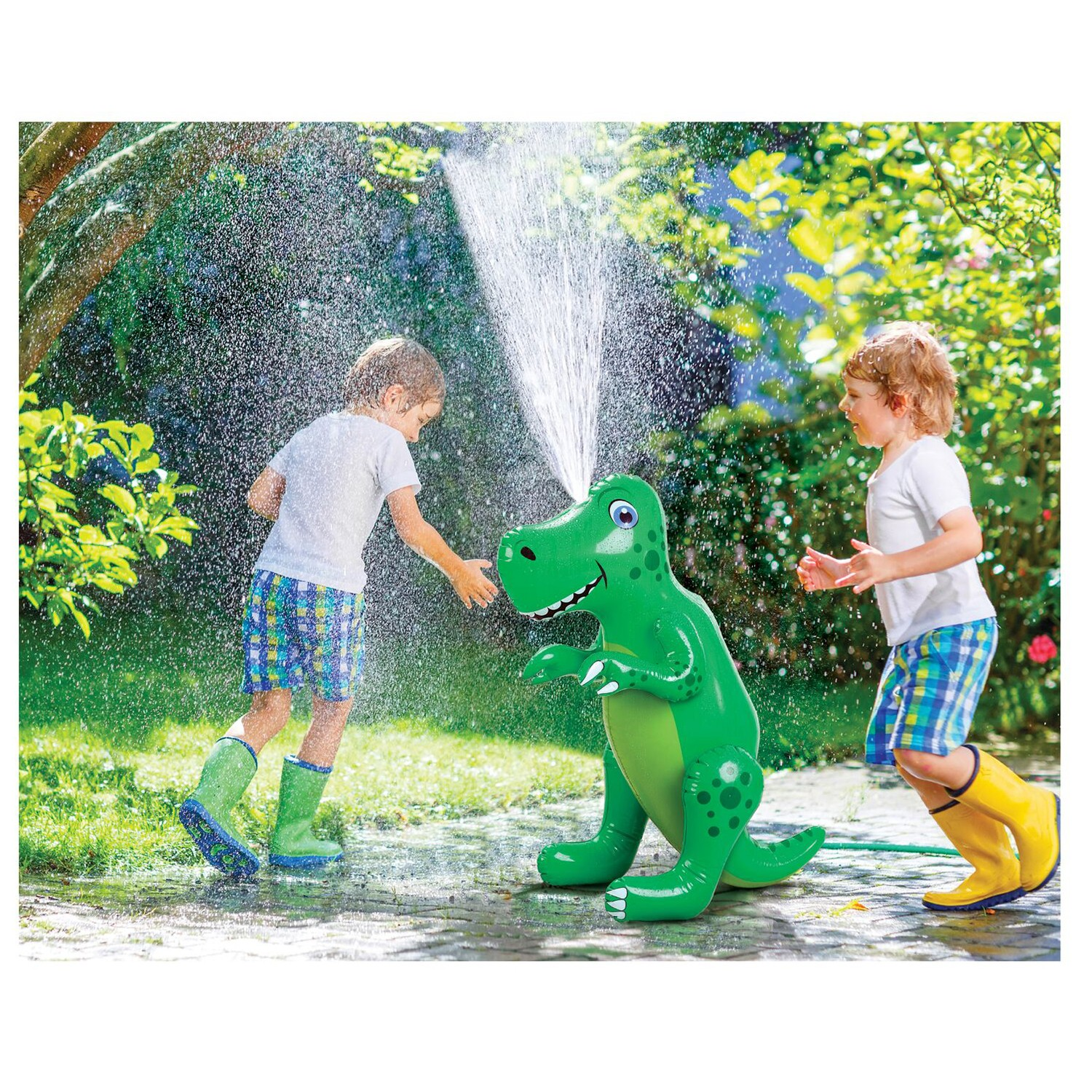 thumbnail 9 - Etna Inflatable Water Sprinklers -Unicorn, Rainbow, Dinosaur Water Toys for Kids